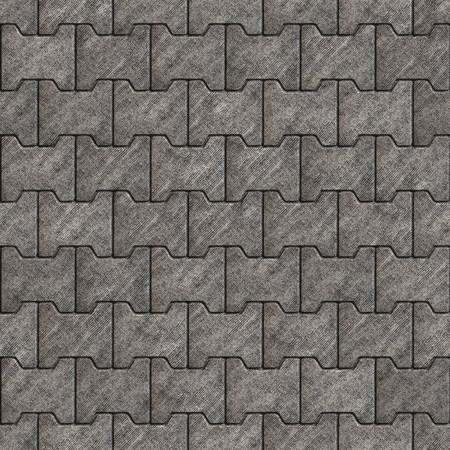 ribbed slab: Seamless Tileable Texture of Gray Figured Pavement with Rough Ribbed Surface.