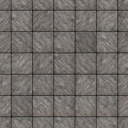 scuffed: Gray Square Pavement with Scuffed. Seamless Tileable Texture.