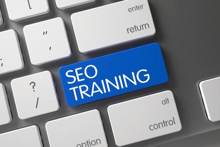 keywords link: SEO Training Key on Computer Keyboard. Slim Aluminum Keyboard Keypad Labeled SEO Training. Blue SEO Training Keypad on Keyboard. SEO Training Written on Blue Button of Computer Keyboard. 3D.