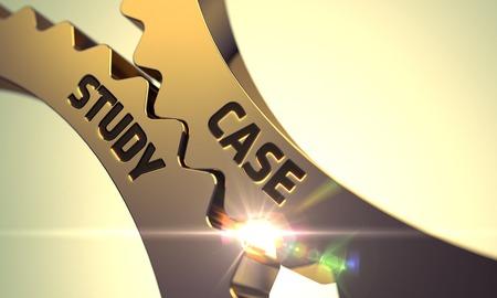 Case Study on Mechanism of Golden Metallic Cogwheels with Lens Flare. Case Study on Golden Cogwheels. Case Study-Technical Design. Case Study on the Mechanism of Golden Metallic Cog Gears. 3D Render.