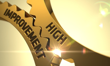 High Improvement on Mechanism of Golden Cogwheels. 3D.