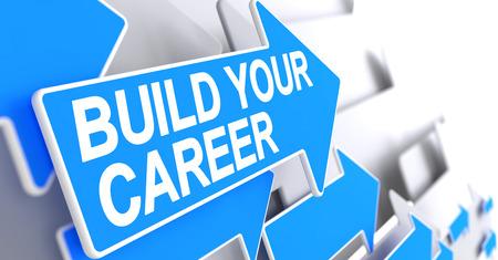 Build Your Career - Inschrijving op Blue Arrow. 3D.