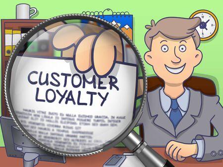 precedency: Customer Loyalty through Lens. Doodle Style.