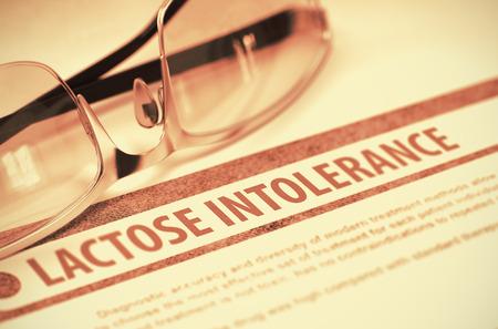 intolerancia: Lactose Intolerance. Medicine. 3D Illustration.