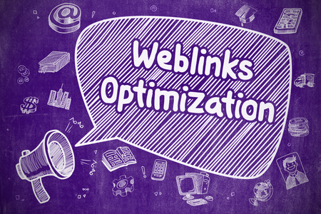 relevance: Weblinks Optimization - Business Concept.