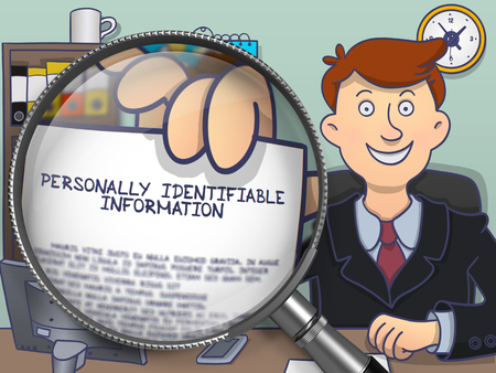 identifiable: Personally Identifiable Information through Magnifier.