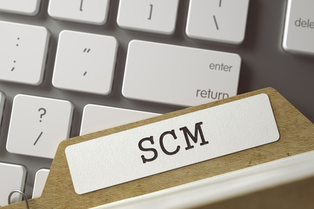 scm: Folder Index with SCM. 3D.
