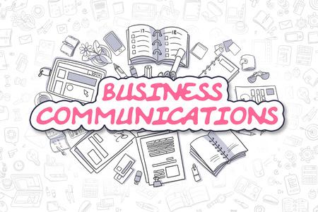 通信: Business Communications Concept.