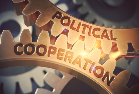 Political Cooperation. 3D.
