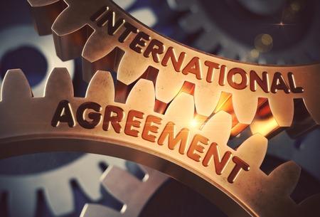 International Agreement. 3D.