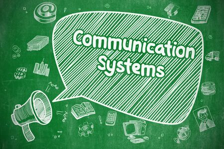 global communication: Communication Systems - Business Concept.