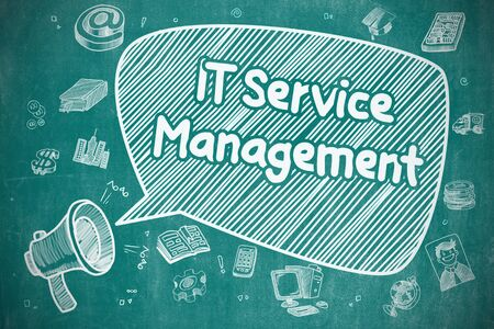 IT Service Management - Business Concept.