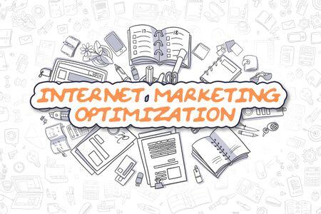 Internet Marketing Optimization - Business Concept.