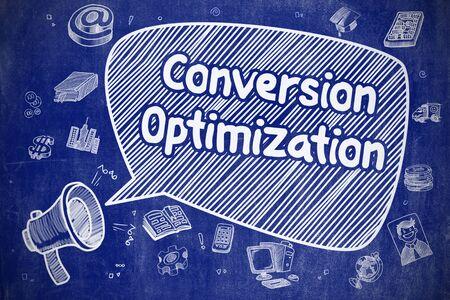Conversie-optimalisatie - bedrijfsconcept.