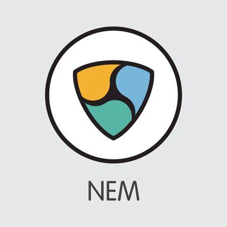 Neweconomymovement NEM - Cryptocurrency Icon