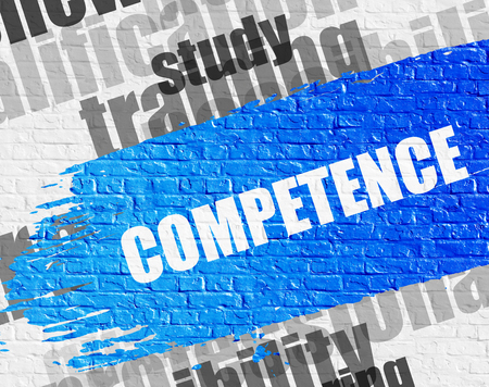 Competence on the White Brickwall.