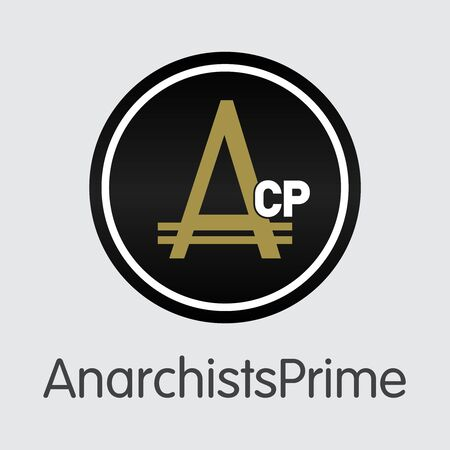 Anarchistsprime - Virtual Currency Icon. Stock Photo