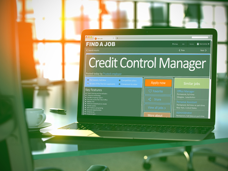 Credit Control Manager Join Our Team. 3D.