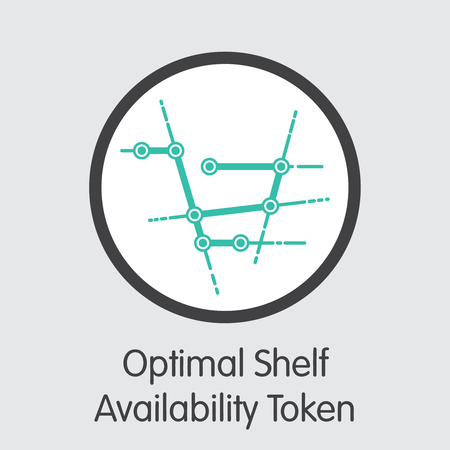 OSA - Optimal Shelf Availability Token - The Coin Icon.