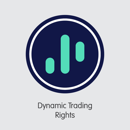 DTR - Dynamic Trading Rights - The Coin Icon.