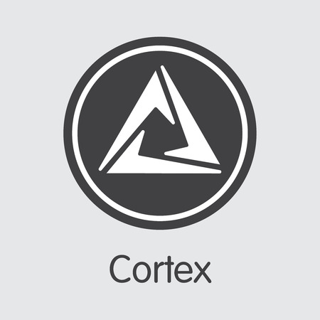 CTXC - Cortex. The Logo of Virtual Momey or Market Emblem.