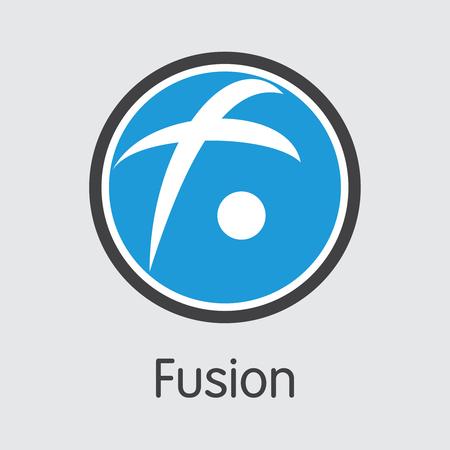 FSN - Fusion. The Trade Logo of Coin or Market Emblem.