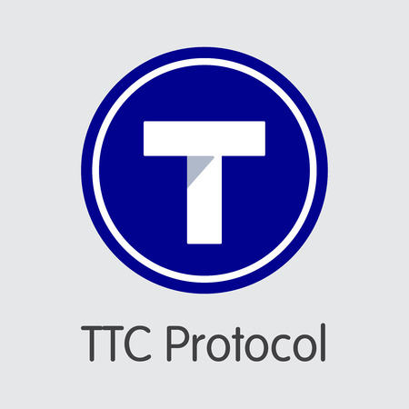 TTC - Ttc Protocol. The Logo of Coin or Market Emblem.