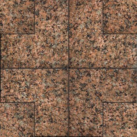 Red Marble or Granite. Seamless Tileable Texture.