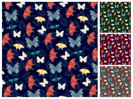 butterfly pattern: butterfly pattern