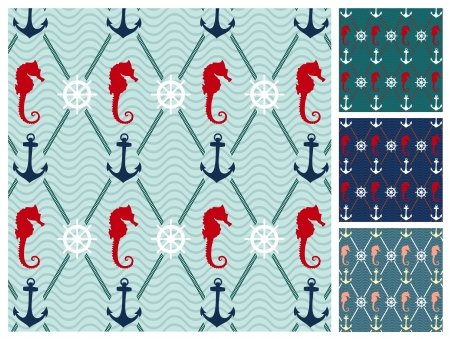 바다 패턴