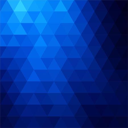 fondos azules: fondo abstracto que consta de triángulos