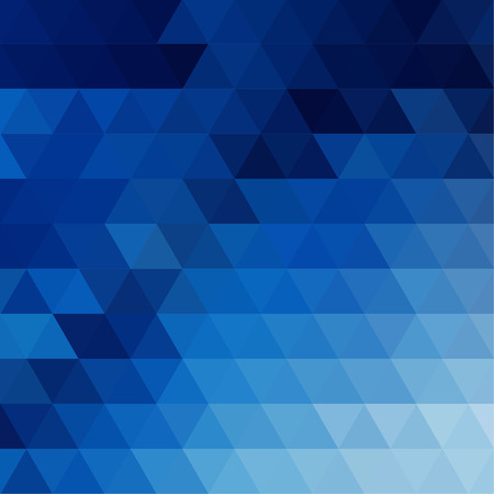 poster background: abstract background consisting of triangles Vettoriali