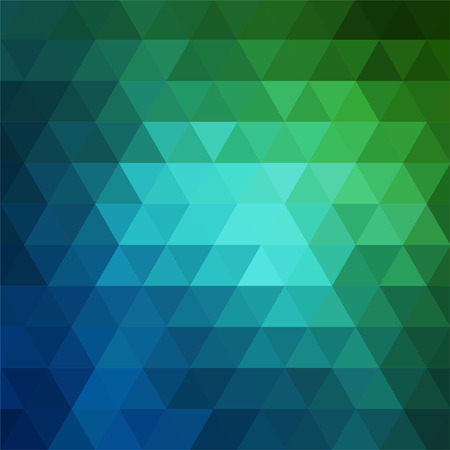 kaleidoscope: abstract background consisting of triangles Illustration