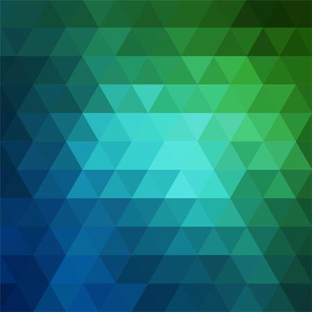 fondo verde abstracto: fondo abstracto que consta de tri�ngulos
