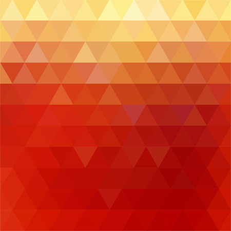 red diamond: abstract background consisting of triangles Illustration