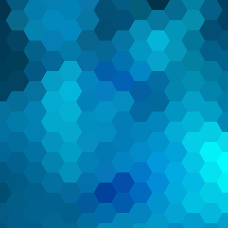 grid pattern: simple colorful background consisting of hexagons