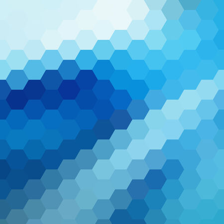 the abstract background: simple colorful background consisting of hexagons