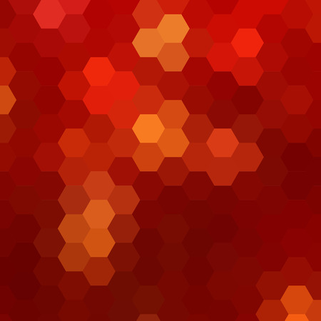 simple colorful background consisting of hexagons