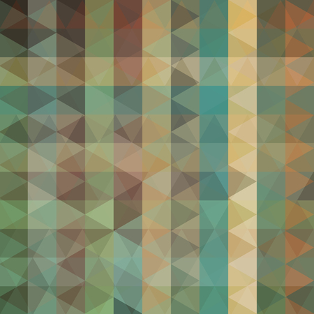 brown background: abstract background consisting of triangles Illustration