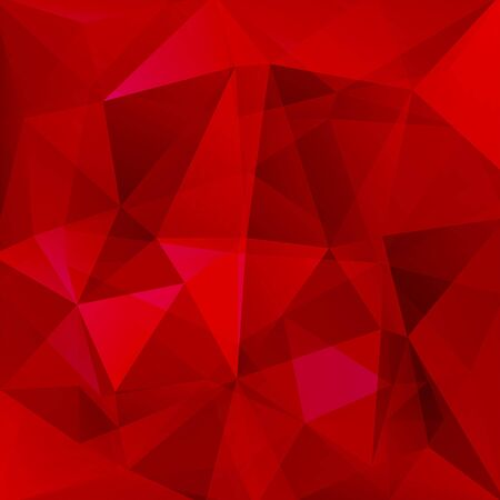 red shape: abstract background consisting of triangles Illustration