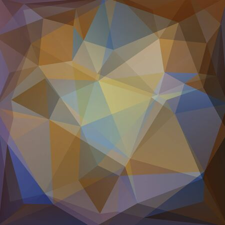 mildew: abstract background consisting of triangles Illustration
