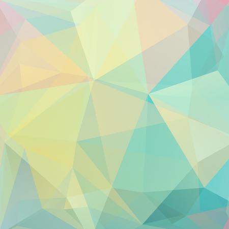 colores pastel: fondo abstracto que consta de tri�ngulos