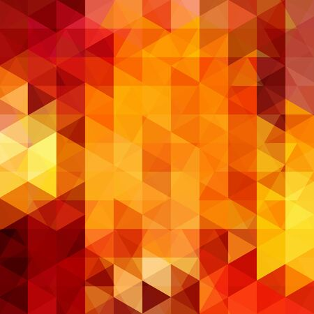 fire: abstract background consisting of triangles Illustration