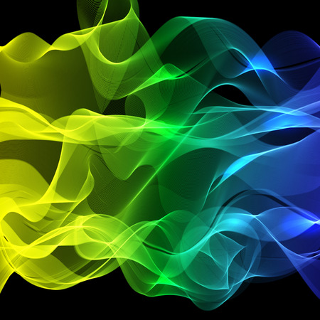 colorful abstract background with lines, vector Vettoriali
