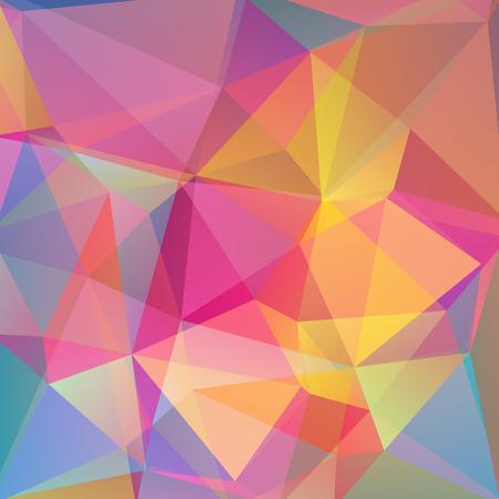 Abstrait composé de triangles Banque d'images - 38150014