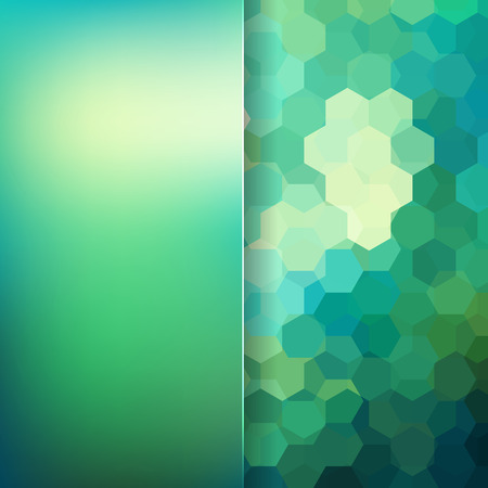 abstact: abstact background consisting of hexagons