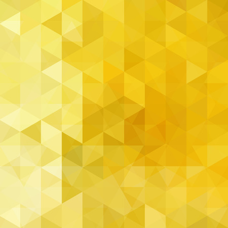 gold colour: abstract background consisting of triangles Illustration