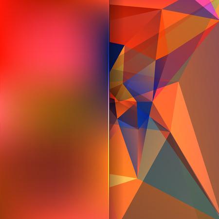 Fondo abstracto que consta de triángulos Foto de archivo - 38315294