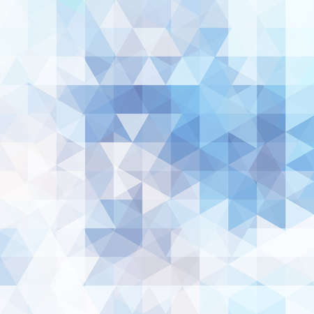 winter fashion: abstract background consisting of triangles Illustration