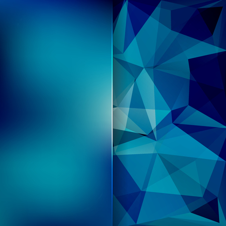 abstract background consisting of triangles Vectores